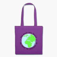 God Made The Earth, We Need to Protect It Tote Bag
