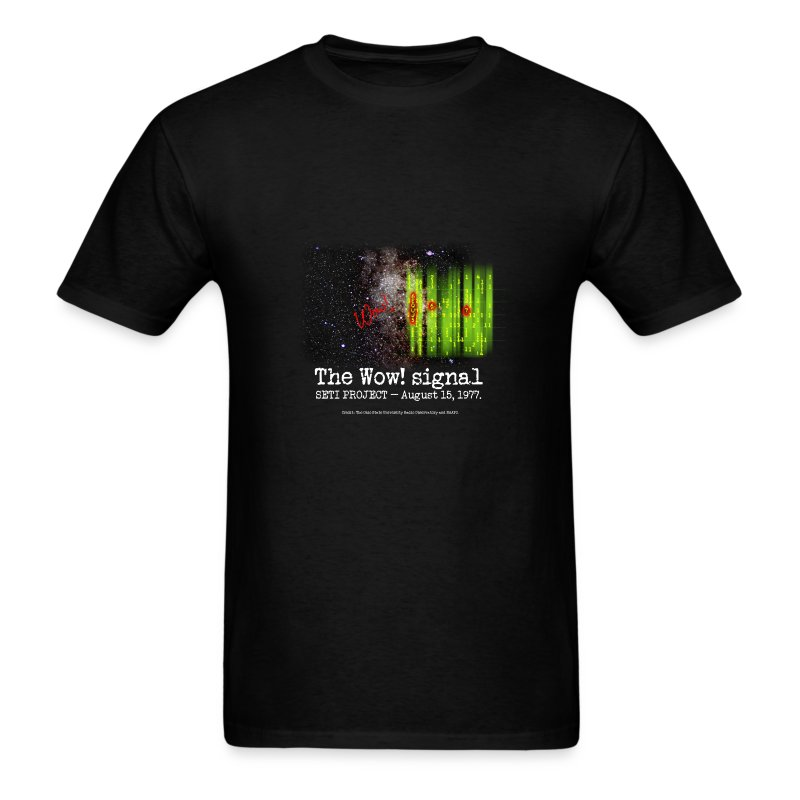 SETI The WOW! Signal - Men's T-Shirt