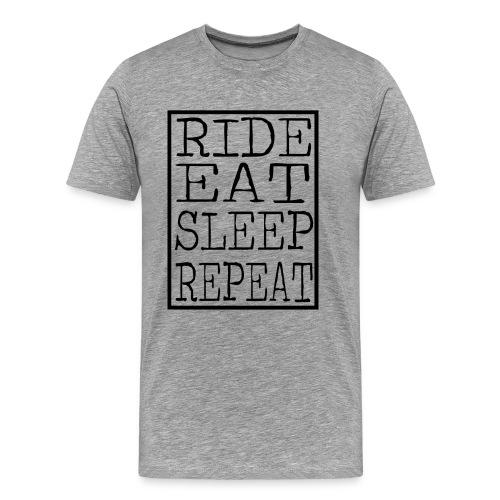 Ride Eat Sleep (Mens) - Men's Premium T-Shirt