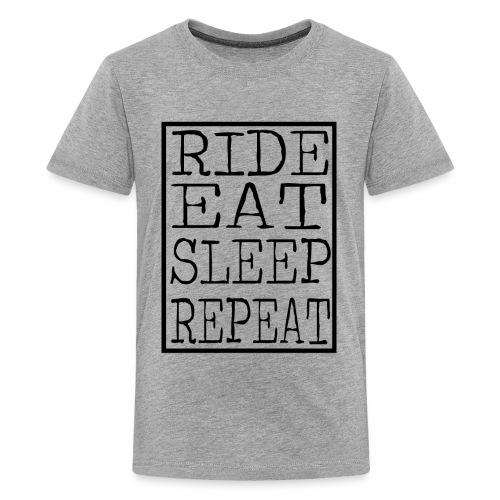 Ride Eat Sleep (Kids) - Kids' Premium T-Shirt