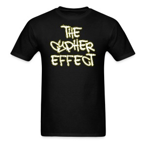 Black TCE Logo Shirt (YELLOW) - Men's T-Shirt