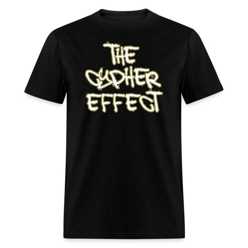Black TCE Logo Shirt (YELLOW) - Men's T-Shirt