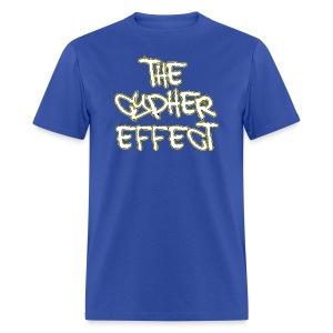 Blue TCE Logo Shirt (YELLOW) - Men's T-Shirt