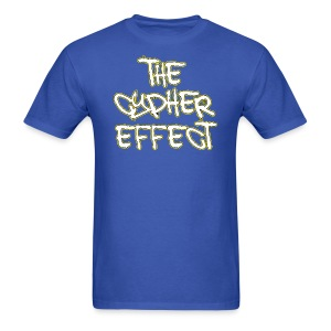 Blue TCE Logo Shirt (YELLOW) - Men's T-Shirt