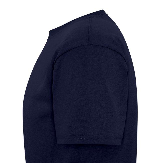 Navy Blue TCE Logo Shirt (YELLOW)