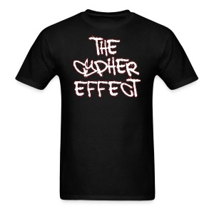 Black TCE Logo Shirt (RED) - Men's T-Shirt