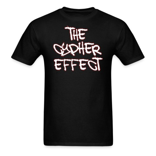 Black TCE Logo Shirt (RED) - Men's T-Shirt