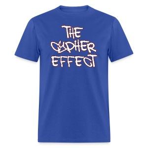 Blue TCE Logo Shirt (RED) - Men's T-Shirt