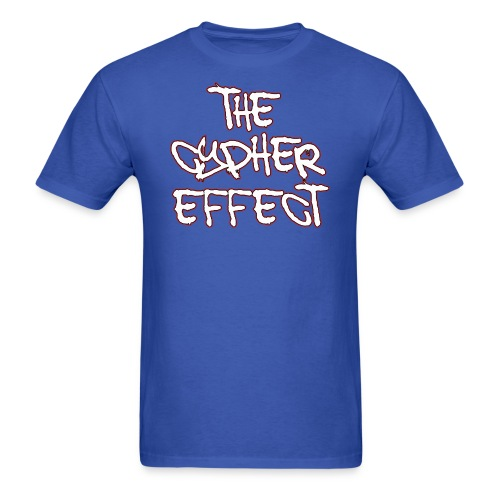 Blue TCE Logo Shirt (RED) - Men's T-Shirt