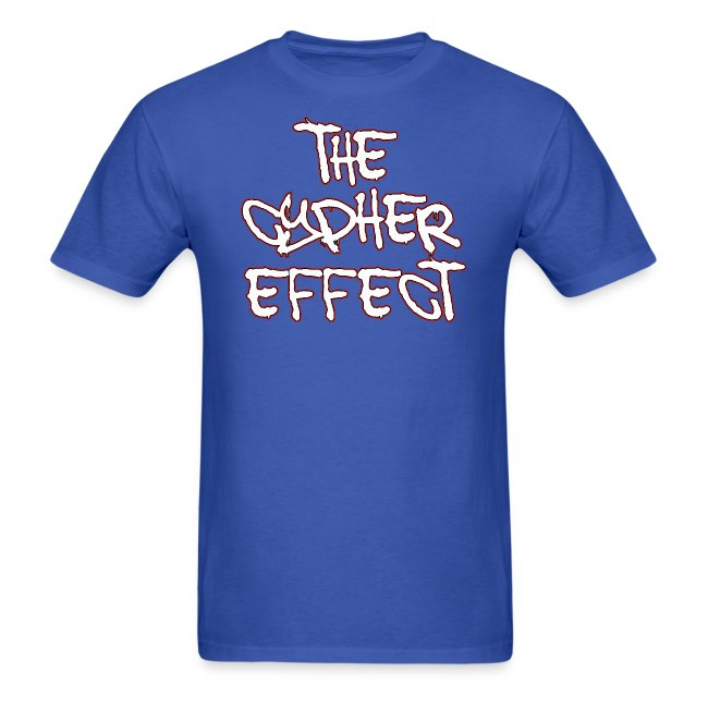 Blue TCE Logo Shirt (RED)