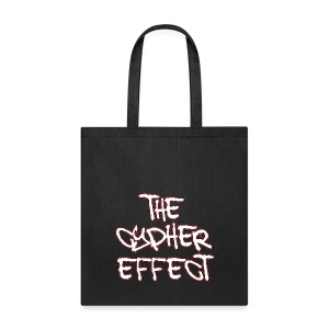Black TCE Logo Tote Bag (RED) - Tote Bag