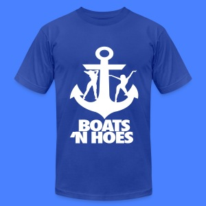 Boats N Hoes T-Shirts - Men's T-Shirt by American Apparel