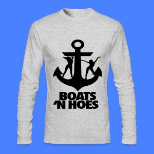 Boats N Hoes Long Sleeve Shirts - Men's Long Sleeve T-Shirt by Next Level