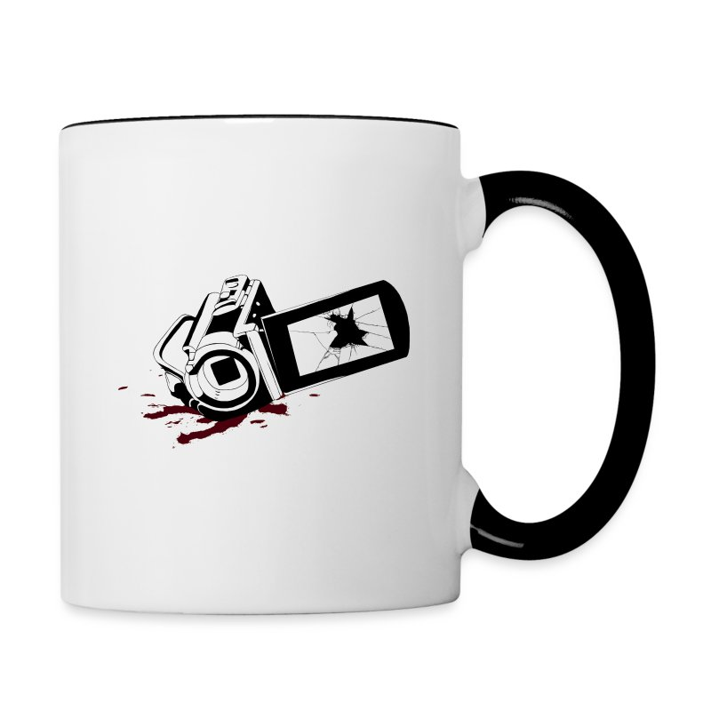 Haunted Camera Coffee Mug - Contrast Coffee Mug