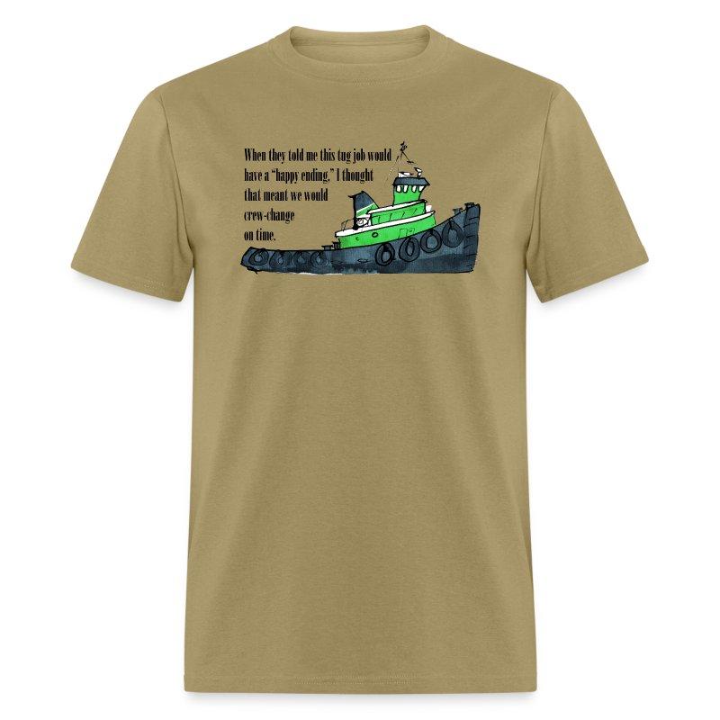 Tug Job - Men's T-Shirt