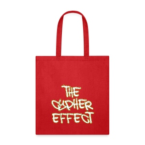 Red TCE Logo Tote Bag (YELLOW) - Tote Bag