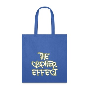 Blue TCE Logo Tote Bag (YELLOW) - Tote Bag