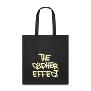 Black TCE Logo Tote Bag (YELLOW) - Tote Bag