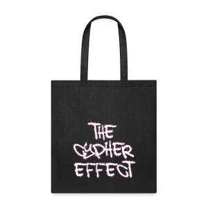 Black TCE Logo Tote Bag *Special Edition Pink* - Tote Bag