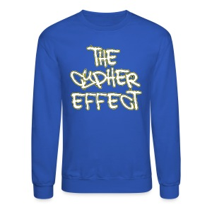 Blue TCE Logo Crewneck (YELLOW) - Crewneck Sweatshirt