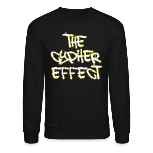 Black TCE Logo Crewneck (YELLOW) - Crewneck Sweatshirt