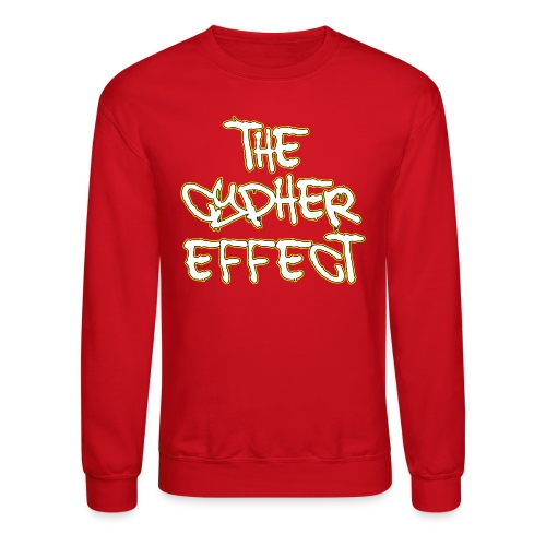 Red TCE Logo Crewneck (YELLOW) - Crewneck Sweatshirt
