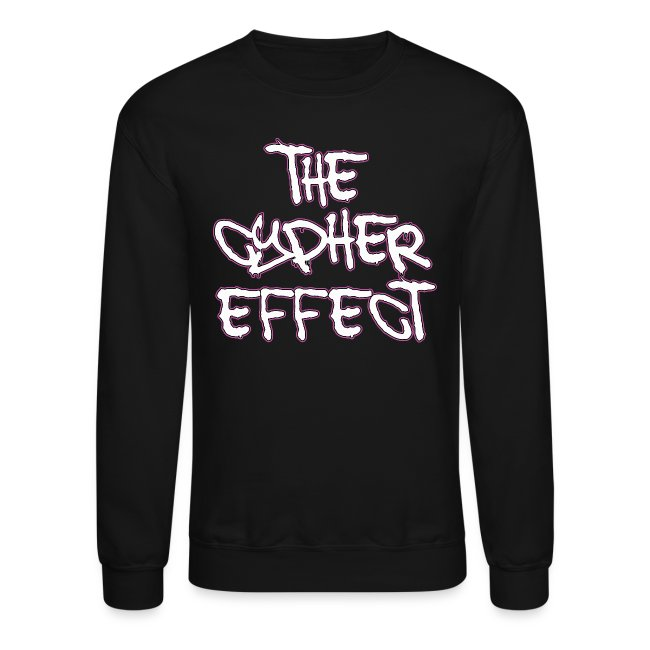 Black TCE Logo Crewneck *Special Edition Pink*