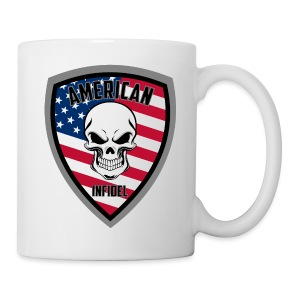 Stars and Stripes Glass Mug - Coffee/Tea Mug