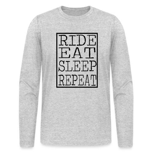 Ride Eat Sleep - Sweater (Mens) - Men's Long Sleeve T-Shirt by Next Level