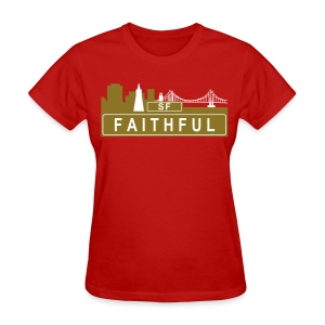 Faithful - Women's T-Shirt
