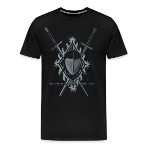 Swords & Mask - Men's Premium T-Shirt