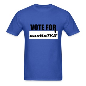 Vote for austinTKO T-Shirt - Men's T-Shirt