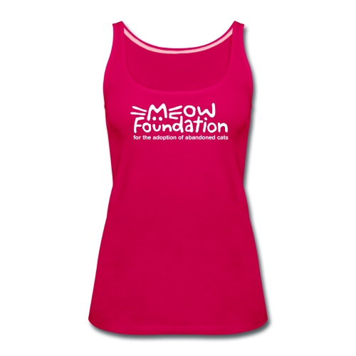 MEOW Foundation Tank - Women's Premium Tank Top
