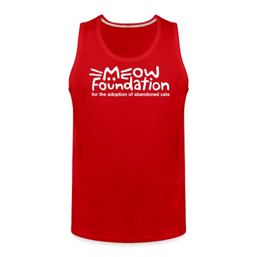MEOW Foundation Tank - Men's Premium Tank