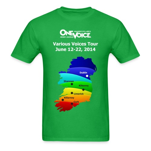 Men's Classic Standard Weight One Voice Ireland shirt - Men's T-Shirt