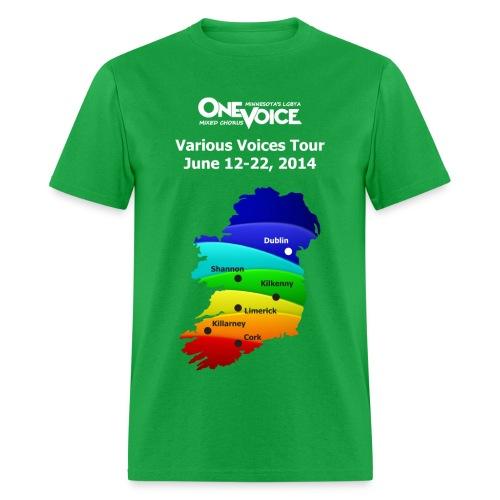 Men's Classic Standard Weight One Voice Ireland shirt - Men's T-Shirt
