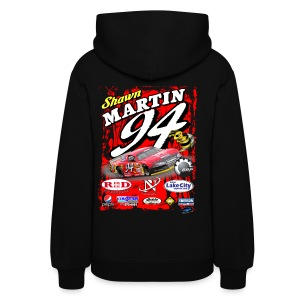 Shawn Martin Mens Sweatshirt - Black - Women's Hoodie
