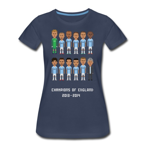 Women T-Shirt - Champions of England 2013-2014 - Women's Premium T-Shirt