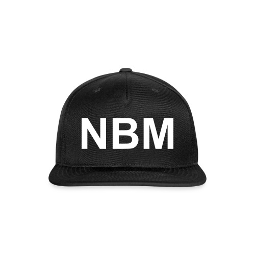 NBM 28X - Snap-back Baseball Cap