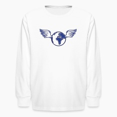 earth with wings Kids' Shirts