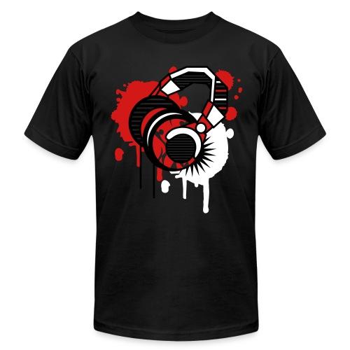 Music Headphones T-Shirt - Men's  Jersey T-Shirt