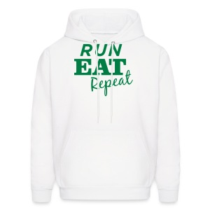 Run Eat Repeat sweatshirt male - Men's Hoodie