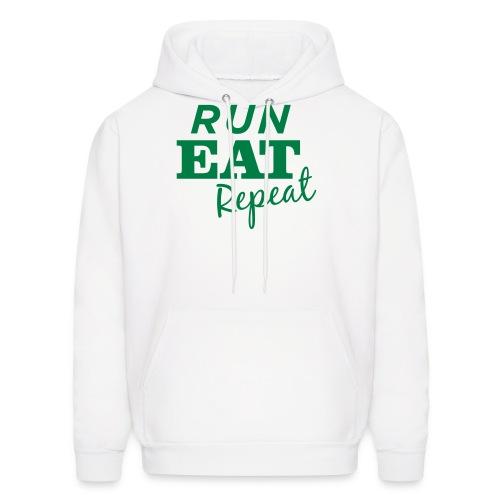 Run Eat Repeat sweatshirt male - Men's Hoodie