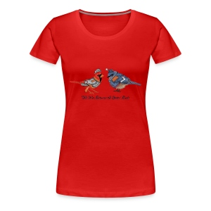 The War between the States' Birds - Women's Premium T-Shirt