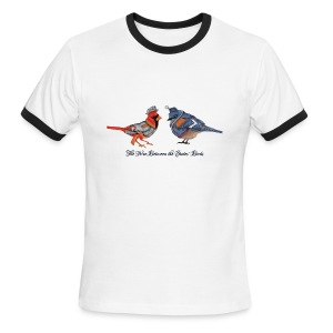 The War between the States' Birds - Men's Ringer T-Shirt