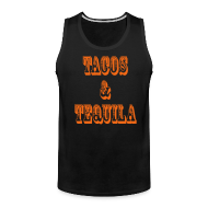Tank Tops ~ Men's Premium Tank Top ~ Tacos & Tequila