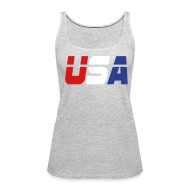 Tanks ~ Women's Premium Tank Top ~ USA