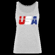 Tanks ~ Women's Premium Tank Top ~ USA