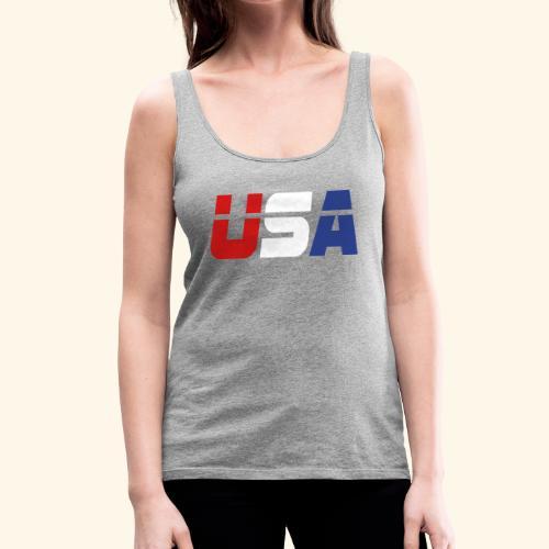 USA - Women's Premium Tank Top