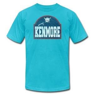 Kenmore Sign - Men's Fine Jersey T-Shirt